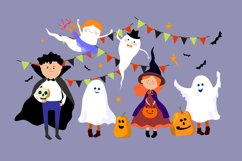 Halloween children in Halloween costume. Product Image 2