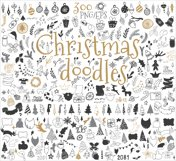 300 Christmas doodle icons and design elements ClipArt Product Image 2