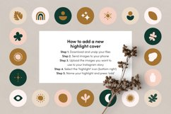 Instagram Highlight Covers Boho Objects Product Image 2
