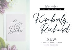 Bettyna   Handwriting Script Font Product Image 3
