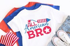 All american bro patriotic SVG, 4th of July Product Image 2