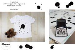 Real Ink Splatter PNG Product Image 2