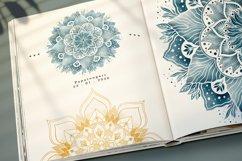 Floral Watercolor & Gold Mandala Product Image 4