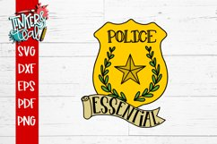 Essential Worker Police Cop svg Product Image 2