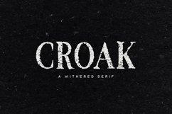 Croak Typeface Product Image 1