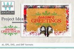 Christmas SVG - Season's Greetings Product Image 1