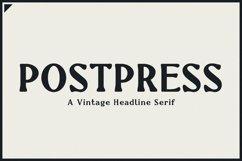 Newspaper Font   Postpress Product Image 1