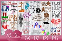 Best Seller OH MY! MASSIVE BUNDLE SALE 220 DESIGNS SVG DXF Product Image 4