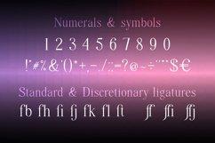 Quffer, serif regular font Product Image 3