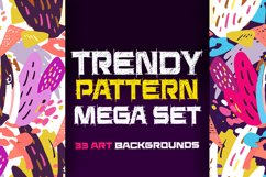 Abstract trendy pattern set Product Image 1
