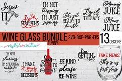 Wine Bundle SVG, DXF, PNG, EPS Product Image 2