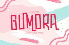Web Font Gumora Product Image 1
