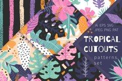 Tropical Cutouts Patterns Set Product Image 1