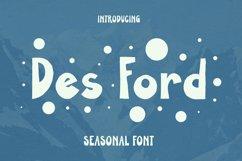 DES FORD Font Product Image 1