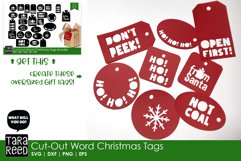 Christmas Gift Tags - Christmas SVG & Cut Files for Crafters Product Image 2
