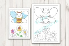 Coloring Pages with insects Product Image 4