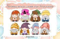 33 Brush stamp procreate, Gnomes stamp, Gnomes brush stamp Product Image 2