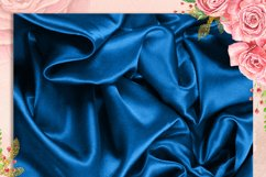 42 Royal Blue Luxury Silk Satin Cloth Papers Product Image 2