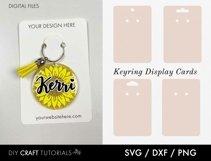 Keyring Display Card Svg BUNDLE, Packaging SVG, Keychain SVG Product Image 3