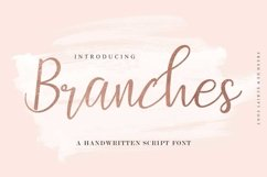 Web Font Branches Product Image 1