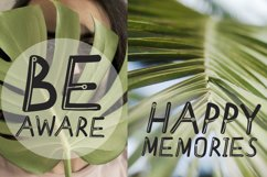Meditative font - cute English font Product Image 5