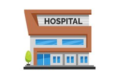 Hospital Clipart Product Image 1