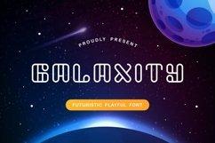 Galaxity - Futuristic Playful Font Product Image 1