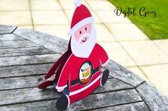 Santa, Christmas egg holder design SVG / DXF / EPS files Product Image 2