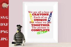 Box of Crayons School Wall Decor Teacher Wall Print Product Image 1