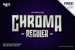 Chroma - Trio Gaming Font Product Image 1