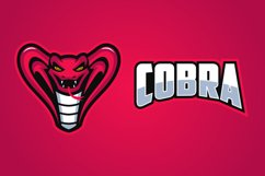 The King Cobra Mascot Logo Templates Product Image 3