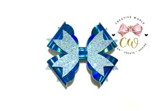 New 2021 Hair Bow Digital Template | Bow Template |CWC167 Product Image 1