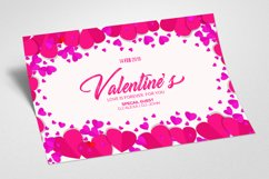 Valentine Greeting Card Psd Product Image 2