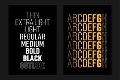 Mostin Typeface Product Image 2