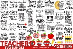 Teacher SVG Bundle, Best Seller. Product Image 1