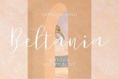 Web Font Beltania Font Product Image 1