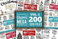 Christmas BIG Bundle SVG bundle 400 designs Product Image 2
