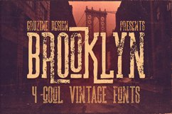 Brooklyn Typeface Product Image 1