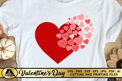 Heart SVG Valentine SVG Valentines Day SVG Love SVG Cut file Product Image 5