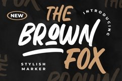 The Brown Fox Stylish Marker Product Image 1