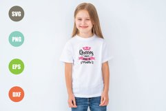 Queens Are Born In.. SVG Bundle 12 Designs Product Image 3