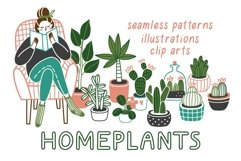 HOMEPLANTS | clip arts collection Product Image 1