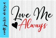 Love Me Always SVG Product Image 1