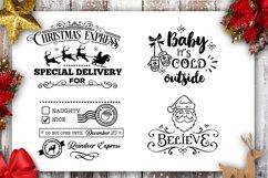 Christmas Bundle SVG bundle 40 designs Winter SVG Product Image 3