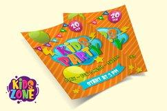 Kids Zone // Layered Font Product Image 6