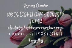 Rosemary - Cute Handwritten font Product Image 5