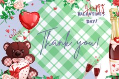 Valentine's Day. Vector clipart. Elements. Product Image 10