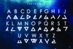 ASCENSION - A Futuristic Typeface Product Image 3