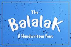 The Balalak Font 5 Style Product Image 1