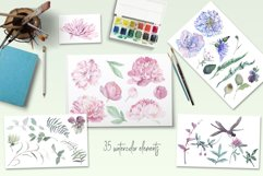 Chic Watercolor Floral Collection Product Image 2